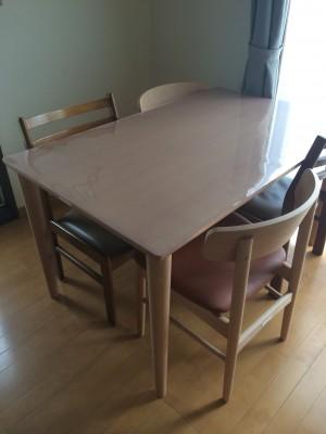 テーブルシート