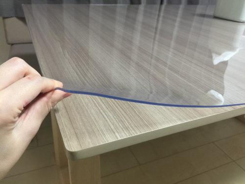 テーブルの上に敷くビニールマッ...