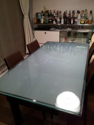 ガラステーブルマット