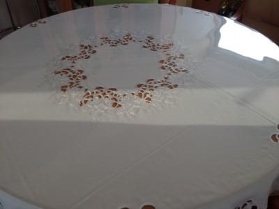 テーブルクロスの汚れ防止