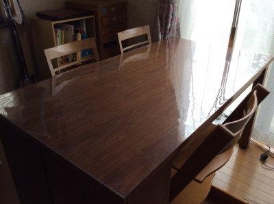 ダイニングテーブルカバー