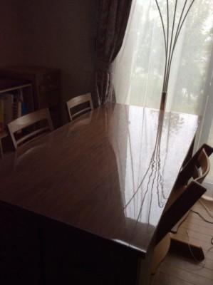 テーブルの凹凸