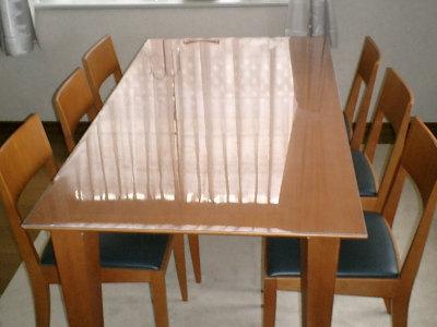 テーブルの防護