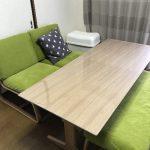 無印良品テーブル