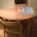 宮崎椅子製作所にテーブルマット