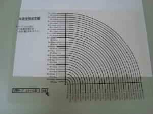 丸角R測定定規