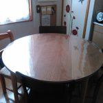 円形テーブルマット