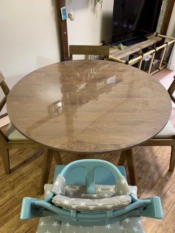 広島のテーブルマット事例